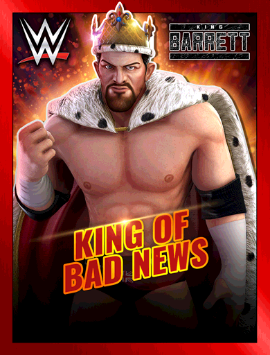 King Barrett 'King of Bad News' Poster